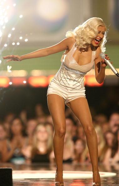 クリスティーナ・アギレラ「2006 MTV Movie Awards - Show」:写真・画像(19)[壁紙.com]