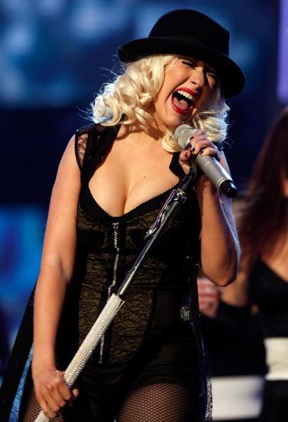 Christina Aguilera「2008 American Music Awards - Show」:写真・画像(8)[壁紙.com]