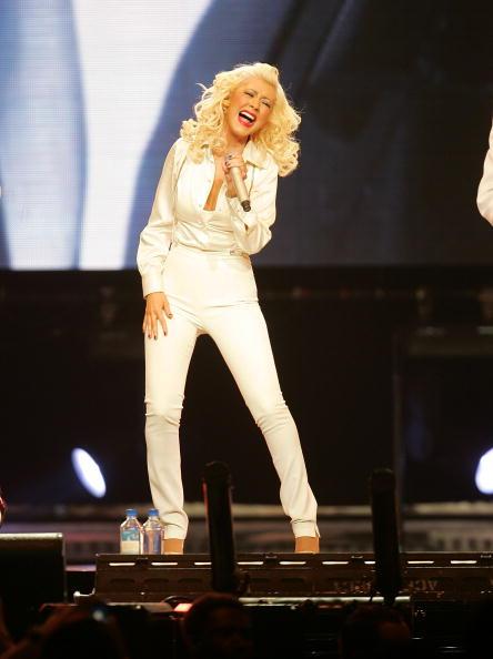 White Jacket「Christina Aguilera In Concert At Madison Square Garden」:写真・画像(19)[壁紙.com]