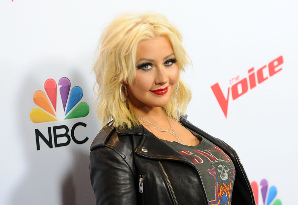 Christina Aguilera「NBC's 'The Voice' Season 8 Red Carpet Event」:写真・画像(6)[壁紙.com]
