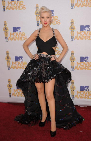 Christina Aguilera「2010 MTV Movie Awards - Arrivals」:写真・画像(7)[壁紙.com]