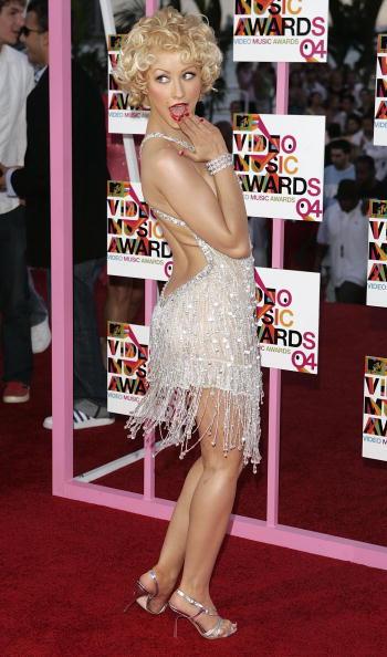 Christina Aguilera「2004 MTV Video Music Awards - Arrivals」:写真・画像(6)[壁紙.com]