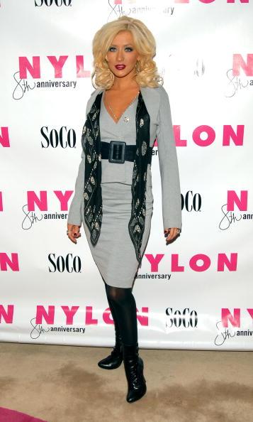 Alexander McQueen - Designer Label「Christina Aguilera Hosts Nylon Magazine's 8th Anniversary Celebration」:写真・画像(3)[壁紙.com]