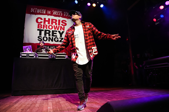 Singer「Chris Brown, Trey Songz And Tyga Press Conference」:写真・画像(2)[壁紙.com]