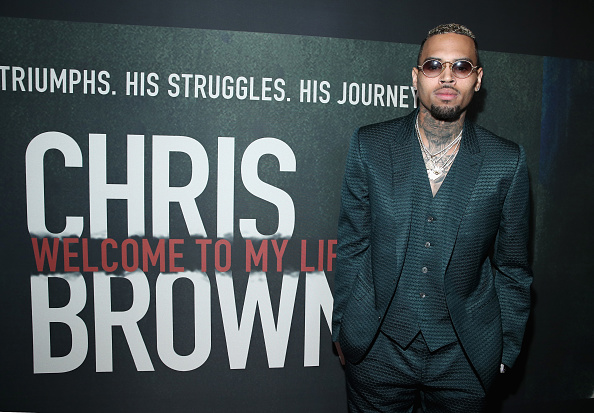 "Singer「Premiere Of Riveting Entertainment's ""Chris Brown: Welcome To My Life"" At L.A. LIVE」:写真・画像(8)[壁紙.com]"