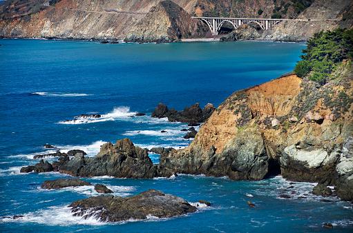 California State Route 1「Big Sur Rugged Coast」:スマホ壁紙(12)