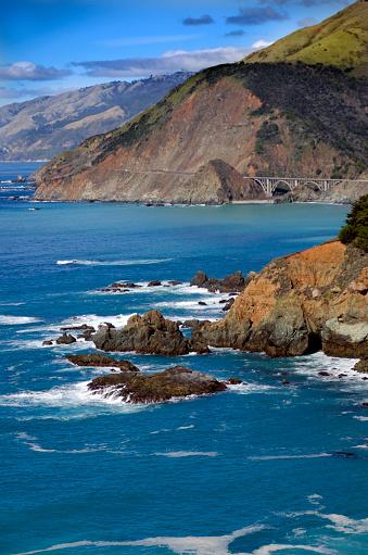 California State Route 1「Big Sur Rugged Coast」:スマホ壁紙(6)
