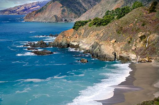 California State Route 1「Big Sur Rugged Coast」:スマホ壁紙(14)