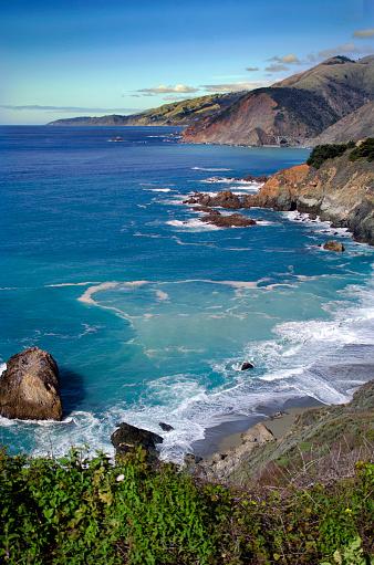 California State Route 1「Big Sur Rugged Coast」:スマホ壁紙(4)