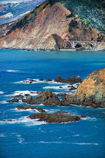 California State Route 1「Big Sur Rugged Coast」:スマホ壁紙(11)