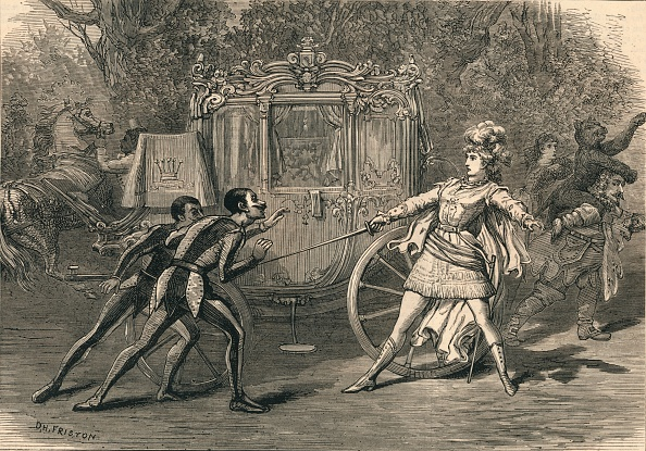 1870-1879「Scene From The Covent Garden Pantomime」:写真・画像(6)[壁紙.com]