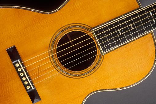 Gray Background「Gruhn Martin Guitar」:スマホ壁紙(16)