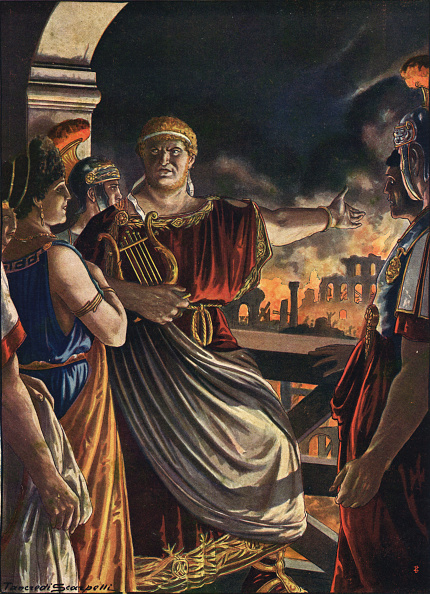 皇帝「NERO AND THE BURNING OF ROME」:写真・画像(7)[壁紙.com]