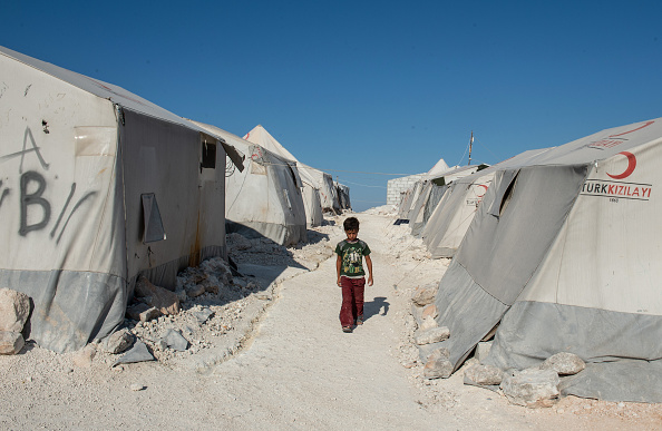 Displaced Persons Camp「Turkey Seeks Expansion Of Syrian 'Safe Zone' For Refugees」:写真・画像(10)[壁紙.com]