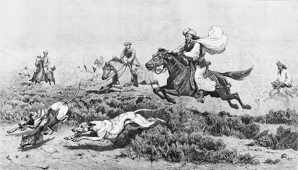 1870-1879「Fox Hunt Near Mastung」:写真・画像(13)[壁紙.com]