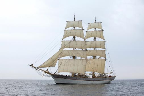 Rudder「Tallship Tre Kronor at sea」:スマホ壁紙(11)