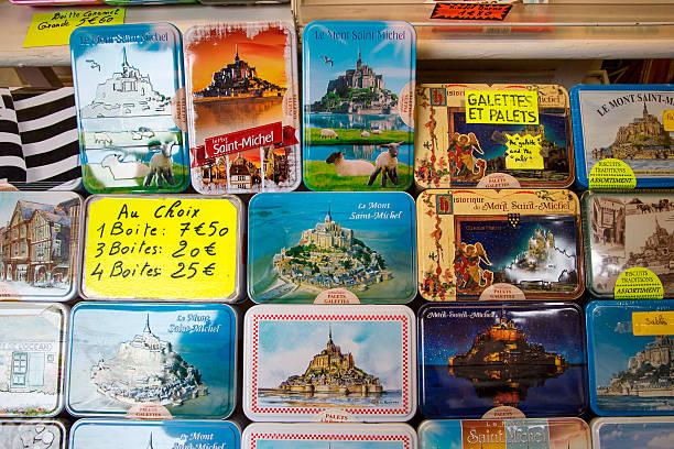 Galettes boxes with Mont Saint-Michel for sale:スマホ壁紙(壁紙.com)