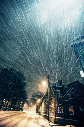 吹雪「風が強い冬の日」:スマホ壁紙(17)