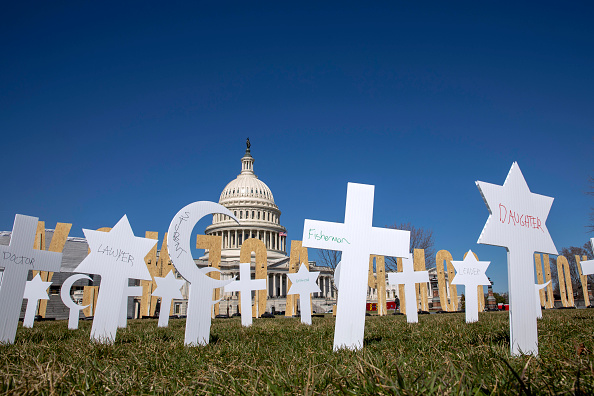 Gun Control「March For Our Lives Students Place Gun Violence Prevention Art Installation On Capitol Grounds」:写真・画像(16)[壁紙.com]
