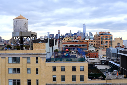 Meatpacking District「Manhattan, Meatpacking district, view of the town」:スマホ壁紙(13)