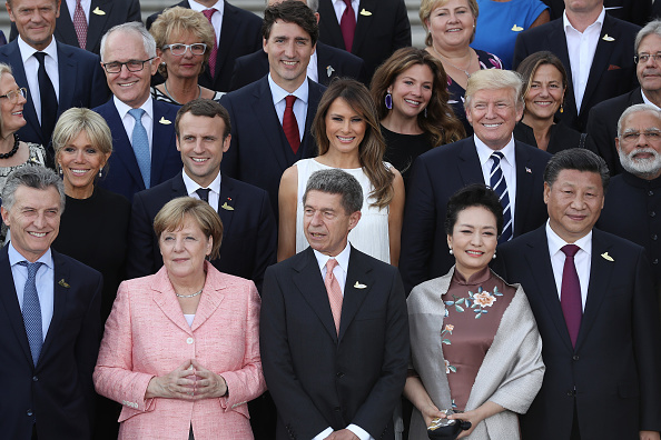 上半身「G20 Nations Hold Hamburg Summit」:写真・画像(5)[壁紙.com]