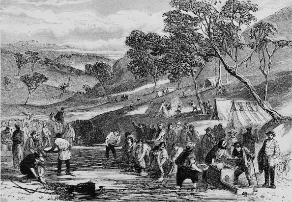 オーストラリア「Gold Mining At Mount Alexander」:写真・画像(12)[壁紙.com]