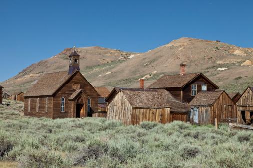 Obsolete「Gold Mining ghost town of Bodie, California.」:スマホ壁紙(3)