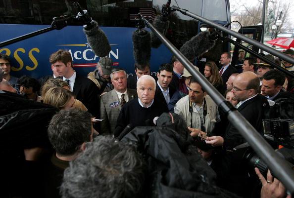 Justin Sullivan「John McCain Officially Announces Presidential Bid」:写真・画像(19)[壁紙.com]