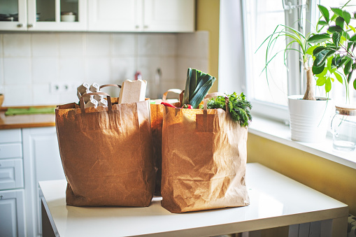 Online Shopping「Food delivery during quarantine」:スマホ壁紙(1)