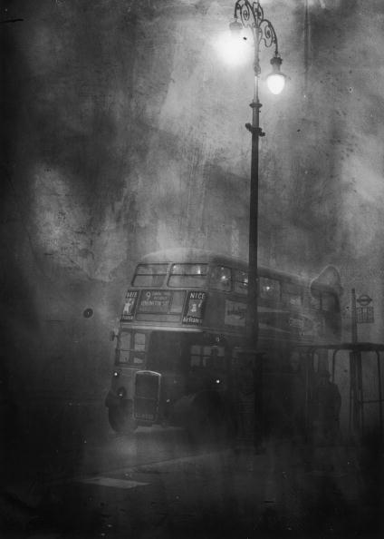 Bus「Fleet Street In Smog」:写真・画像(10)[壁紙.com]