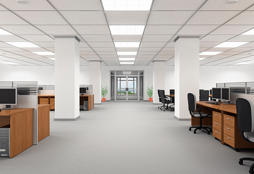 人物なし「オフィスのインテリア」:スマホ壁紙(19)