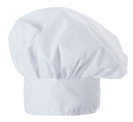 Preparing Food「Chef Hat Isolated on a White Background」:スマホ壁紙(7)