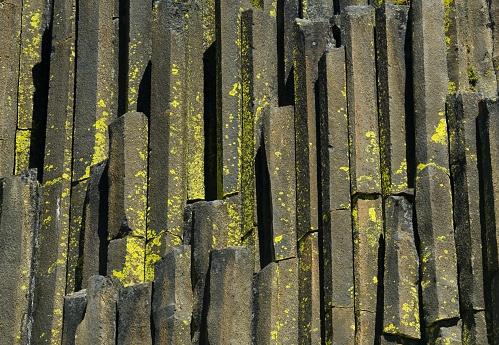 Basalt「Devil's Postpile, columnar basalt, California」:スマホ壁紙(2)