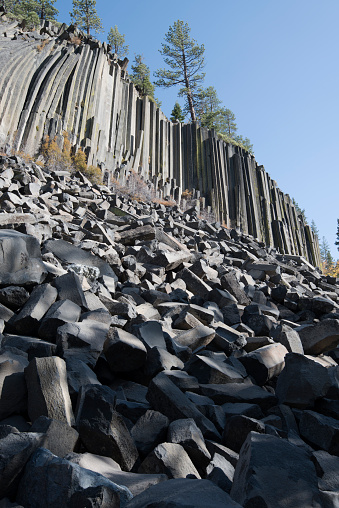 Basalt「Devils Postpile National Monument, Mammoth Mountain, Mammoth Lakes, California, USA」:スマホ壁紙(2)