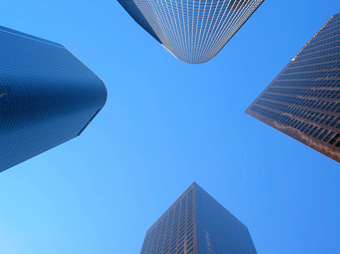 Angeles National Forest「Modern skyscrapers in Los Angeles」:スマホ壁紙(16)