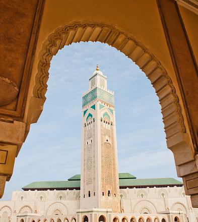 Morocco「Mosquée Hassan II in Casablanca, Morocco.」:スマホ壁紙(5)