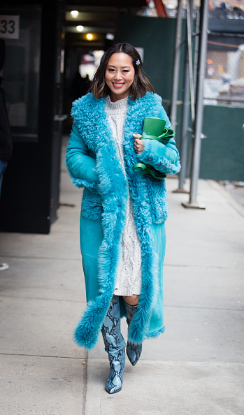 Aimee Song「Street Style - New York Fashion Week February 2019 - Day 4」:写真・画像(1)[壁紙.com]