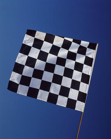 Sports Flag「chequered flag」:スマホ壁紙(12)