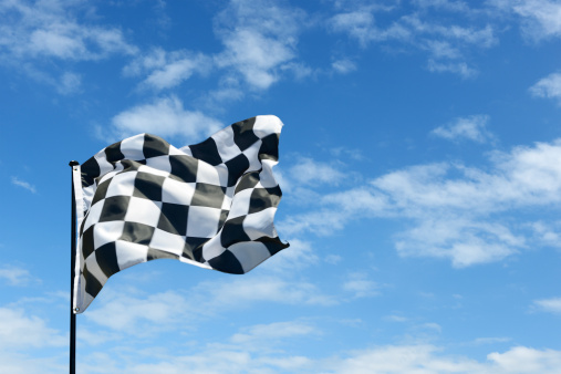 Sports Flag「Chequered flag」:スマホ壁紙(13)