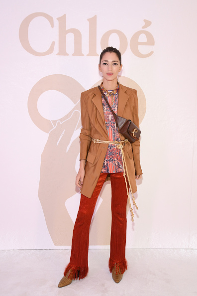 Chloe Purse「Chloe : Front Row - Paris Fashion Week Womenswear Fall/Winter 2019/2020」:写真・画像(9)[壁紙.com]