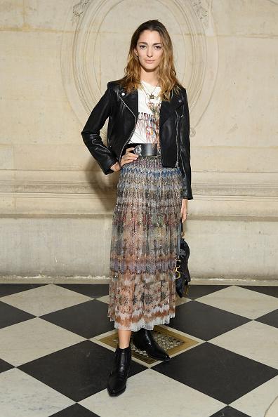 Leather Jacket「Christian Dior : Photocall - Paris Fashion Week Womenswear Fall/Winter 2019/2020」:写真・画像(13)[壁紙.com]