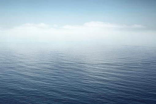 Sea「a calm sea fading into the sky」:スマホ壁紙(10)