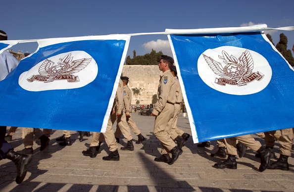 Old Town「Israeli Cadets Practice Before Being Sworn To Duty」:写真・画像(12)[壁紙.com]