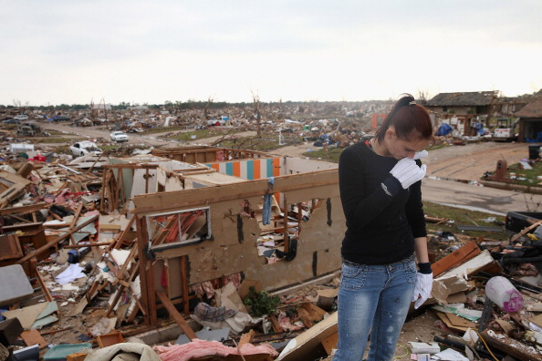 Bedroom「Moore Residents Continue Painful Recovery From Massive Tornado Strike」:写真・画像(3)[壁紙.com]