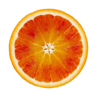 かんきつ類「ブラッドオレンジの部分にホワイト」:スマホ壁紙(16)