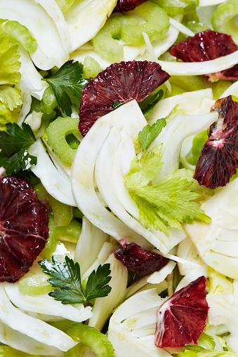 Fennel「Blood Orange Fennel Salad Close-up」:スマホ壁紙(13)