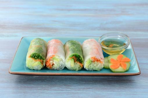 Vietnamese Culture「Fresh Spring Rolls」:スマホ壁紙(19)