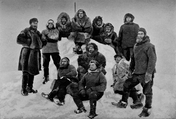 Exploration「'The Crew of the Fram after their Second Winter. About 24 February, 1895', 1895」:写真・画像(6)[壁紙.com]