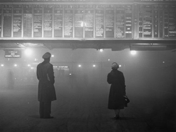 Black And White「Fog At Liverpool Street」:写真・画像(14)[壁紙.com]