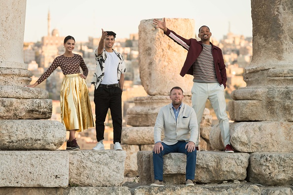 "Ian Gavan「Stars Of Disney's Live-action ""Aladdin"" Return To Jordan As Part Of The Film's Magic Carpet World Tour - Photocall」:写真・画像(5)[壁紙.com]"